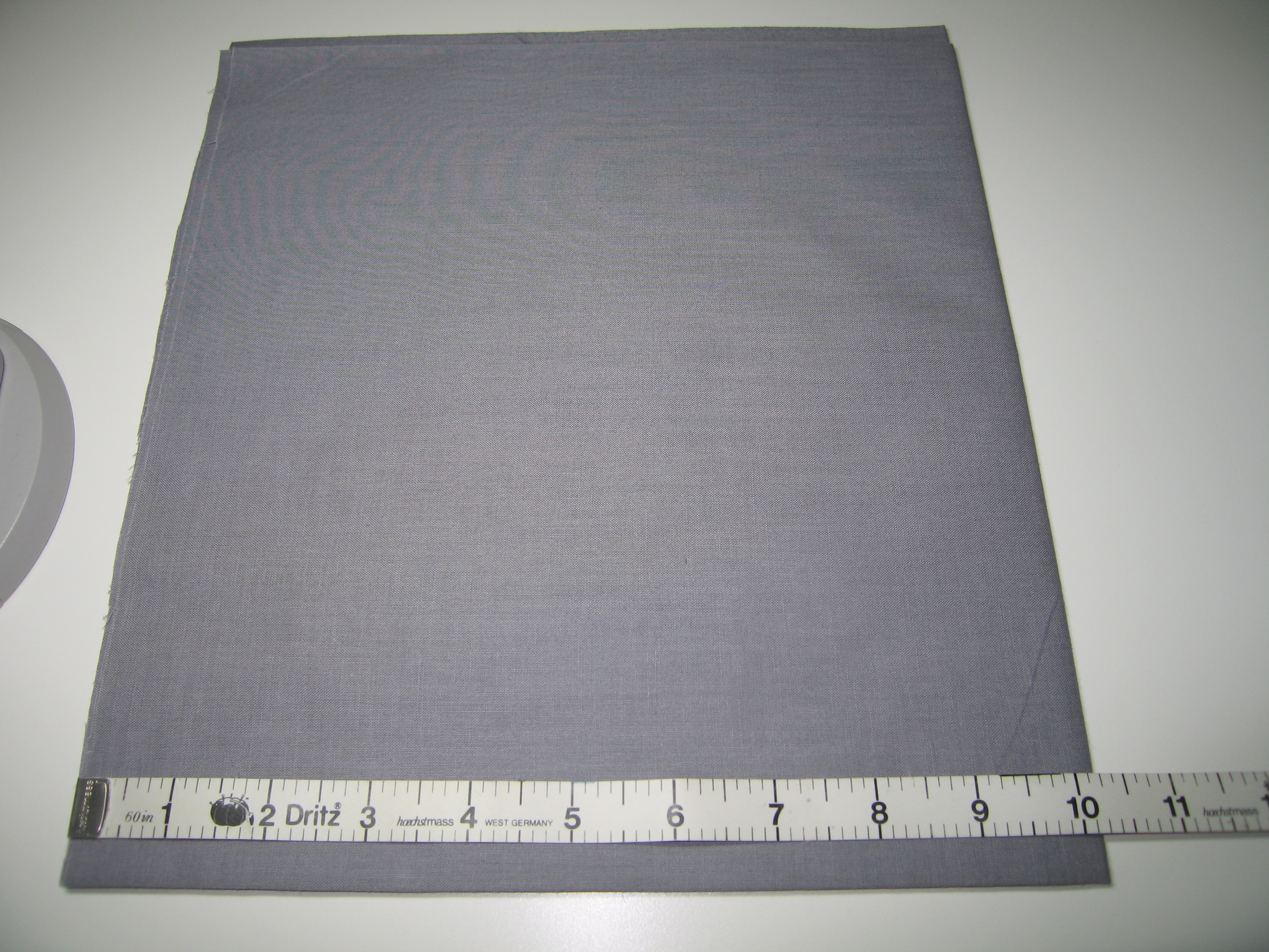 How To Cut A Really Large Circle From Cloth Without A Pattern