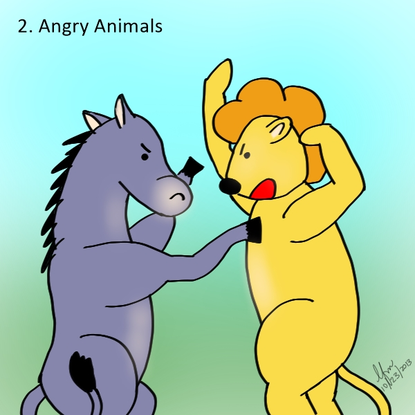 Random things angry animals random moosages as i see fit for Things to draw list