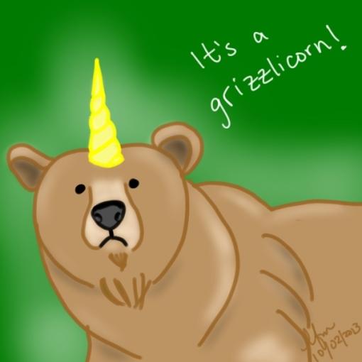 Grizzlicorn!